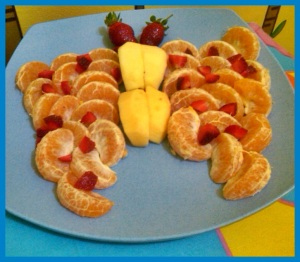 buah di rangkai kayak kupu-kupu :) *kupu2 lopers